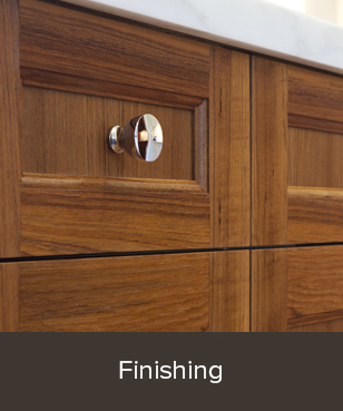 We work with several local Finishing shops to define and repeat a wide range of paint, stain, dye and clear finishes.