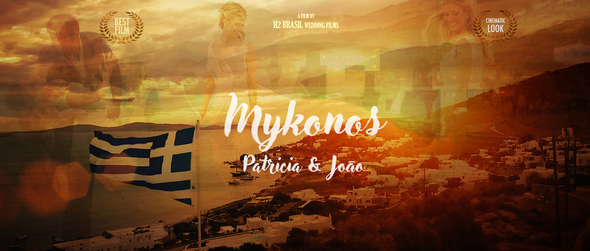 Mykonos Wedding - The Wedding Destination Film from Patricia & Joao filmed at Principote in Mykonos | Greece