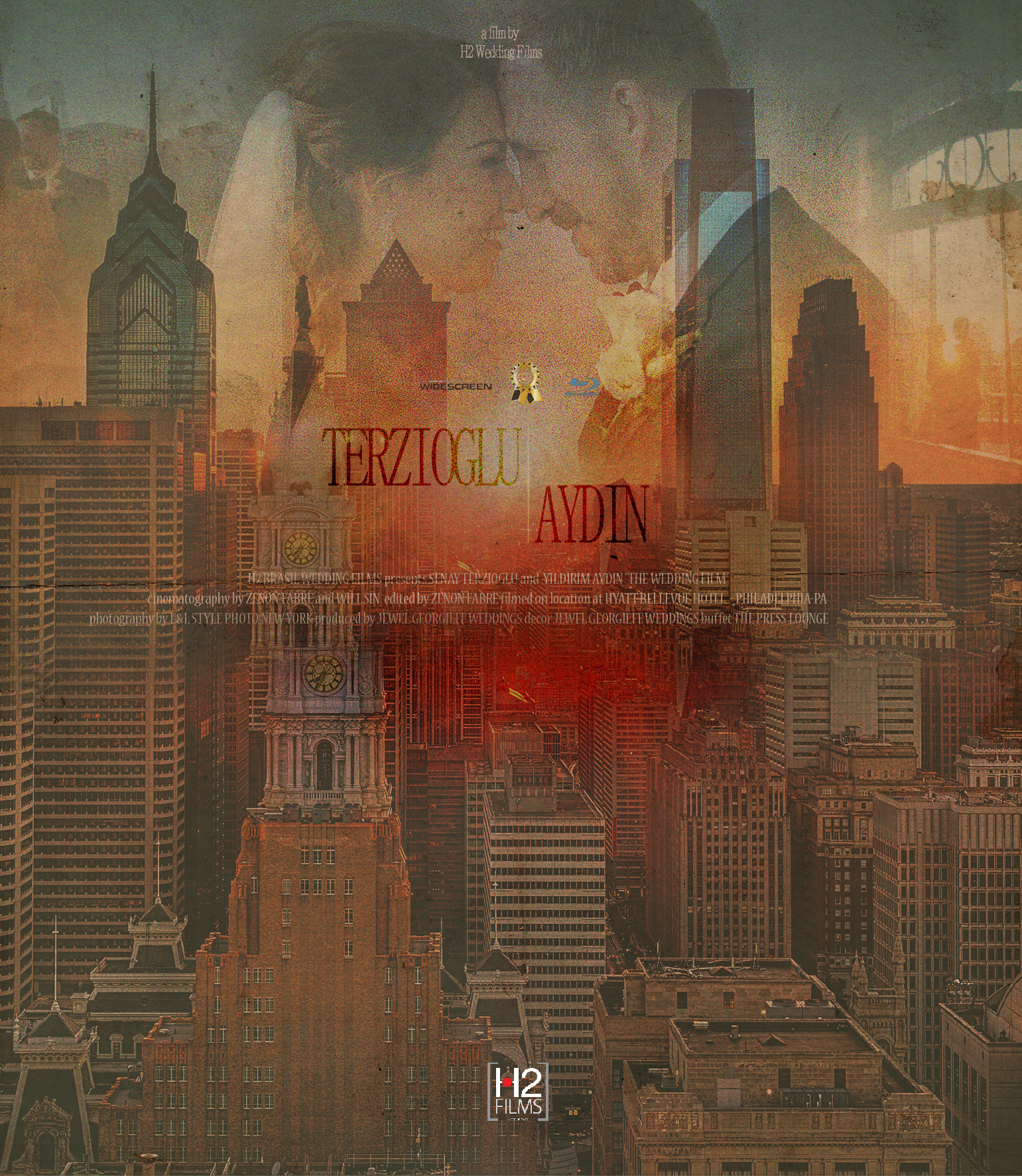 """Bellevue, Philly - Film: H2 WEDDING FILMS H2 BRASIL WEDDING FILMS presents SENAY TERZIOGLU and YILDIRIM AYDIN """"THE WEDDING FILM"""" cinematography by ZENON FABRE and WILL SIN directed and edited by ZENON FABRE filmed on location at HYATT BELLEVUE HOTEL – PHILADELPHIA-PA"""