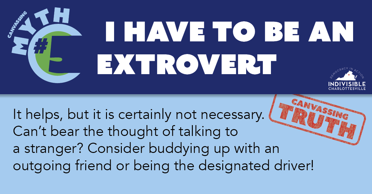 I have to be an extrovert
