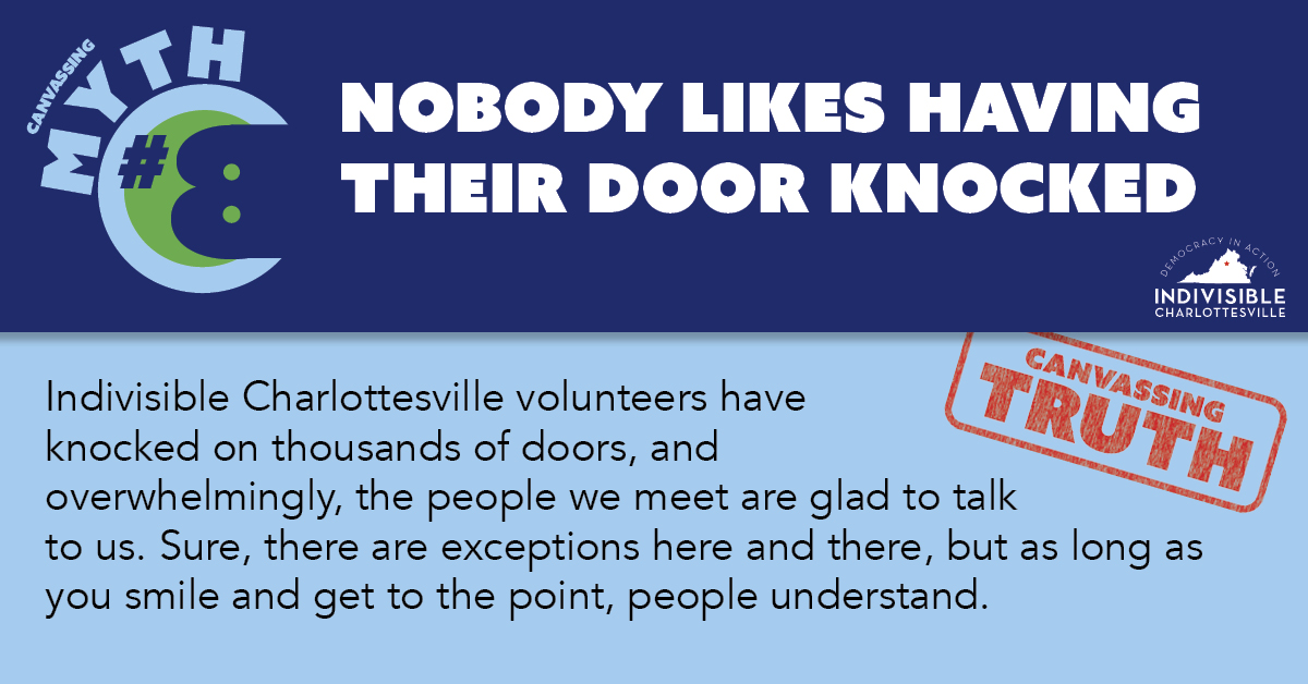 Nobody likes having their door knocked