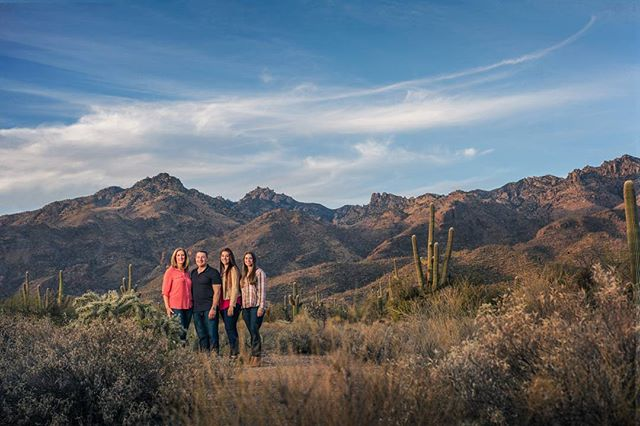 We had perfect weather for this family shoot!  Canon 5D3, Sigma Art 50mm, B1 in gridded octabox, camera-left.  #tucsonphotographer #thisistucson #sabinocanyon #desertlife #profoto @profotoglobal
