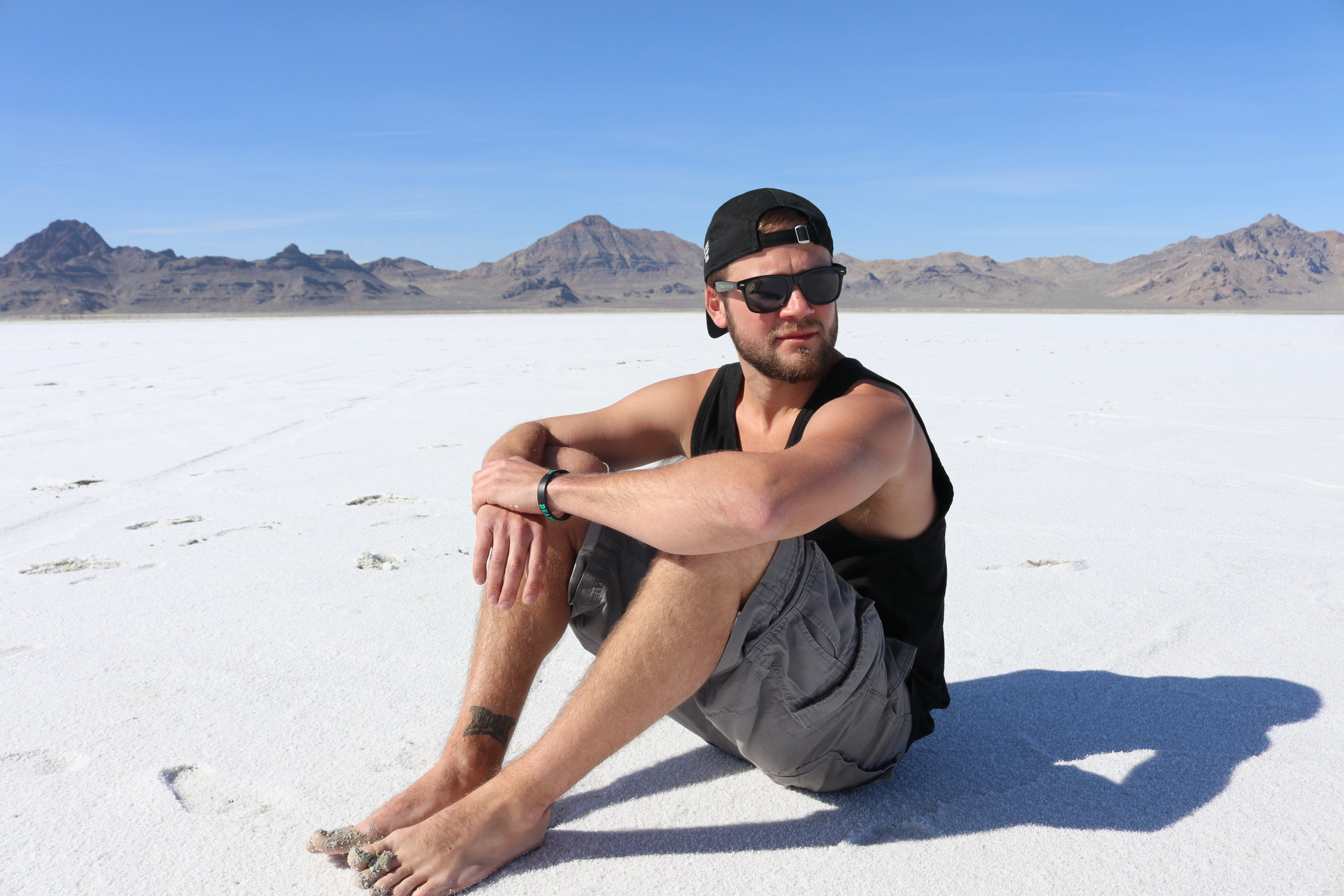 Bonneville Salt Flats, UT