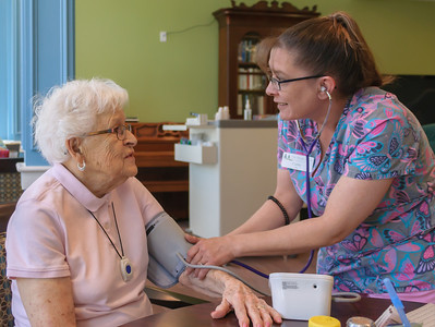 Personal Care - Trained aides are ready around the clock to assist residents with whatever they need.