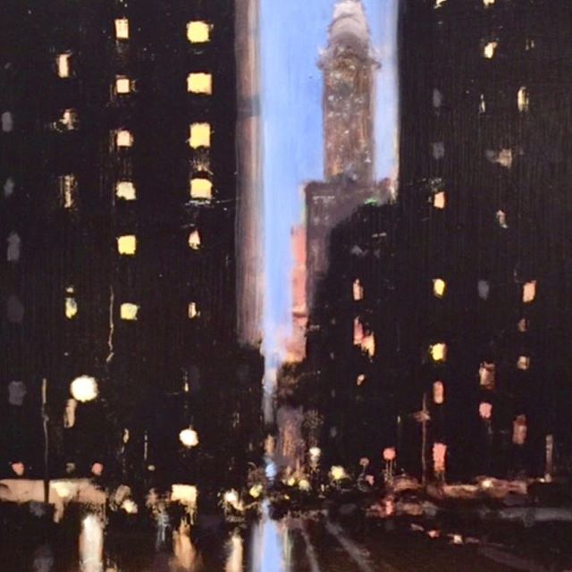 Happy New Year! Best Wishes for the 2018 From Hubert Gallery New York! @hubertgallery#geoffreyjohnson@geoffreyjohnsonart#newyorkcity#newyearseve#art#citylife#interiordesign#decor#cityscapes#nightlife#interiors#contemporaryart#mood
