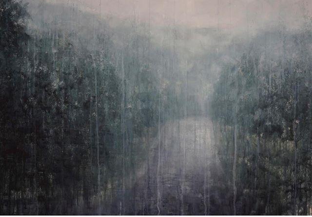 Chizuru Morii Kaplan: New Works, Opens tomorrow! Dec 14th, 6-8 pm @hubertgallery#chizurumoriikaplan#watercolor#landscapes#painting#art#decor
