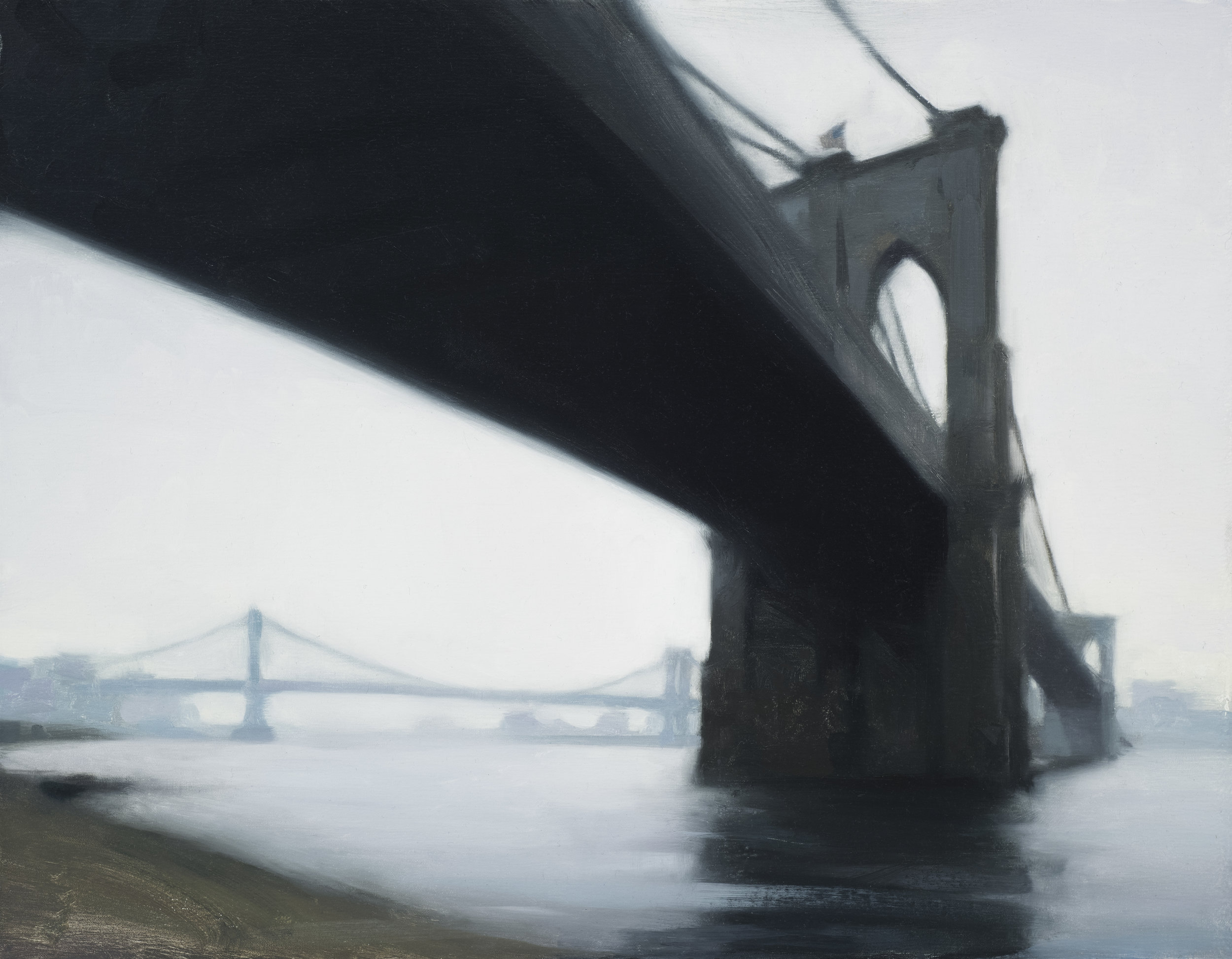 Study for East River, Overcast, 2018