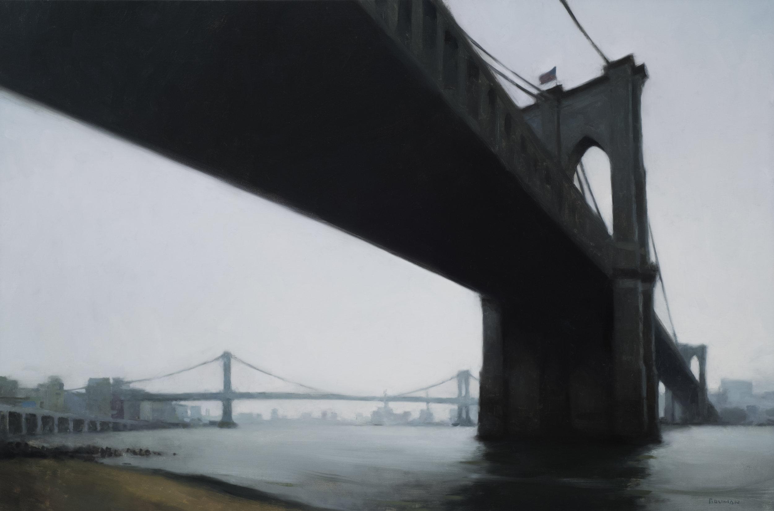 East River, Overcast, 2018