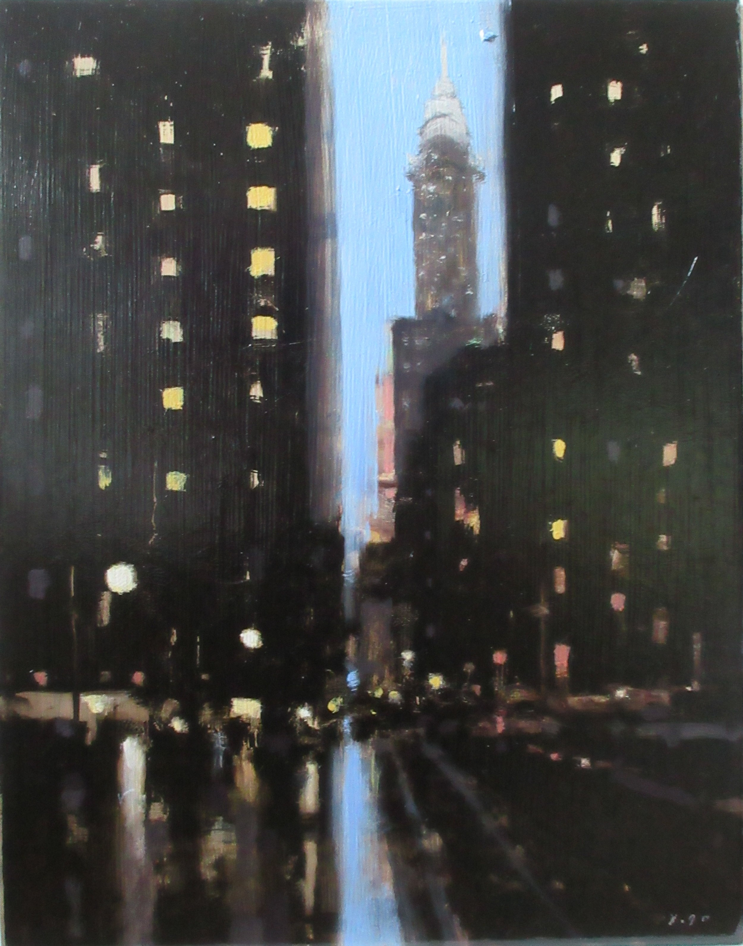 Buildings at Night III, 2017