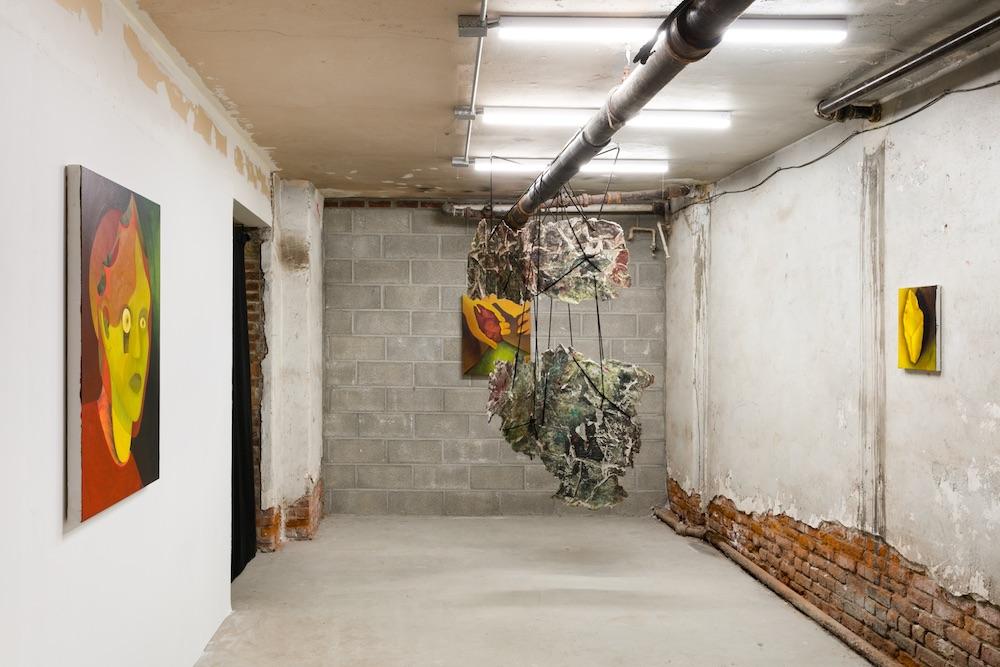 Kristin Sanders & Vanessa Thill Installation view, 2018