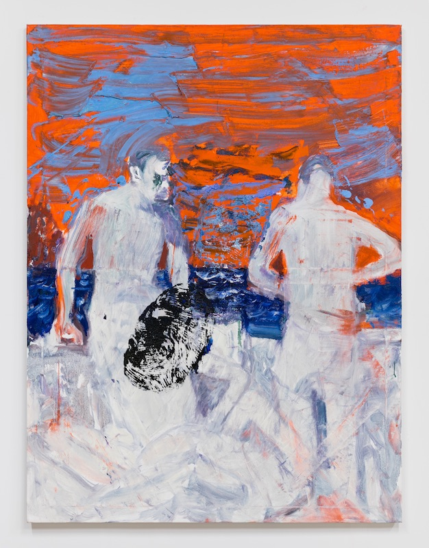 Graham Durward  Here Comes the Ocean , 2019 Oil on canvas 48 x 36 inches