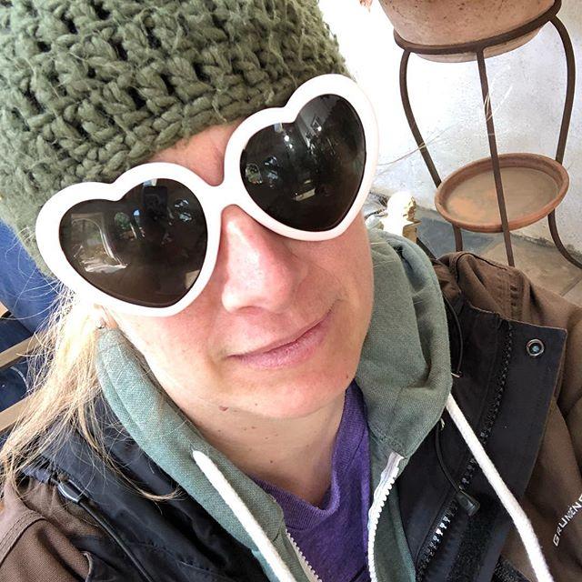 Caption this... #sunglasses #hearts #heartglasses #setlife #arezou