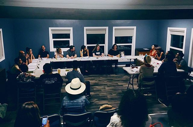 Had a super fun night tonight hearing my words come to life at a table read for my feature film Alone Girl. So amazing! Thank you everyone who took part, my heart is filled with gratitude for you all. ❤️❤️💥💥🎥🎥💪💪 @itscarolineliem @daniellejacobs_official @obleyo @hunterhd @danielmshawn @ralfietorres @rahnuma.tabassum @rachelandersenactor @mrdneal @okangelabullock @roelnavarro_official @ekansoong @marissafordofficial @maggierosehudson @elizabethgwynnewilson @brandinstennis @goldensistar @kristenislovely @jeanpierrecaner #screenwriter #director #writerdirector #femalefilmmakerfriday #comedy #tableread