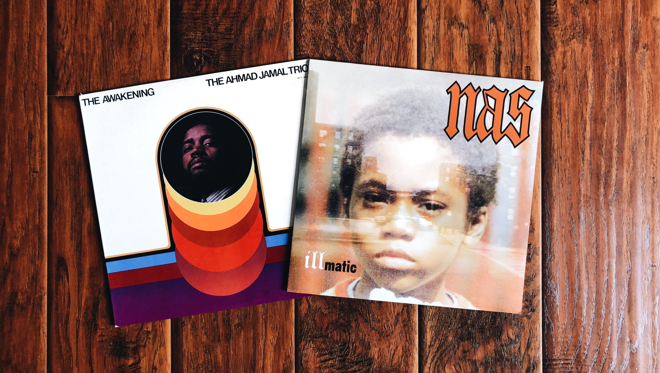 "Pete Rock sampled Ahmad Jamal's ""I Love Music"" from ""The Awakening"" album for Nas' ""The World Is Yours"" on Illmatic."