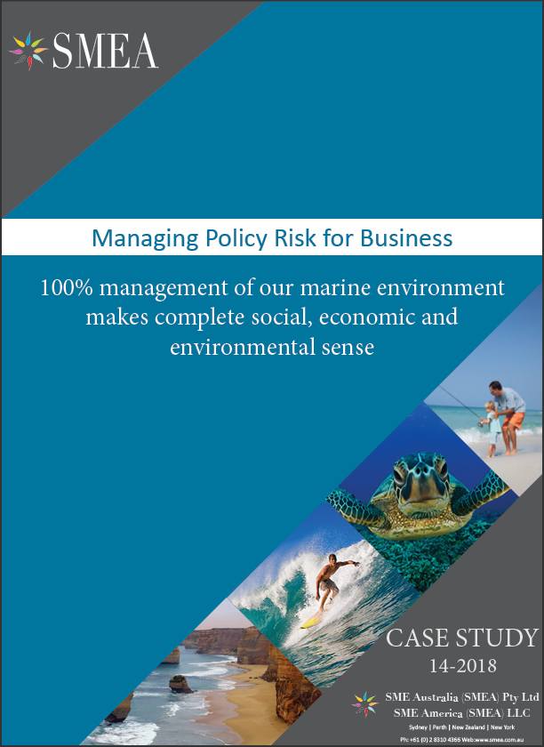 100% management of the marine environment - Governments' grapple with terrestrial (land based) paradigms for marine conservation for good reasons - they don't work. National parks and marine parks are not the same. Why divide the ocean and the community when the social, economic and environmental solution is so simple?