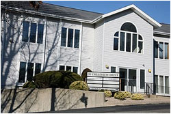 DMR Family & Cosmetic Dentistry building in Westerly, RI