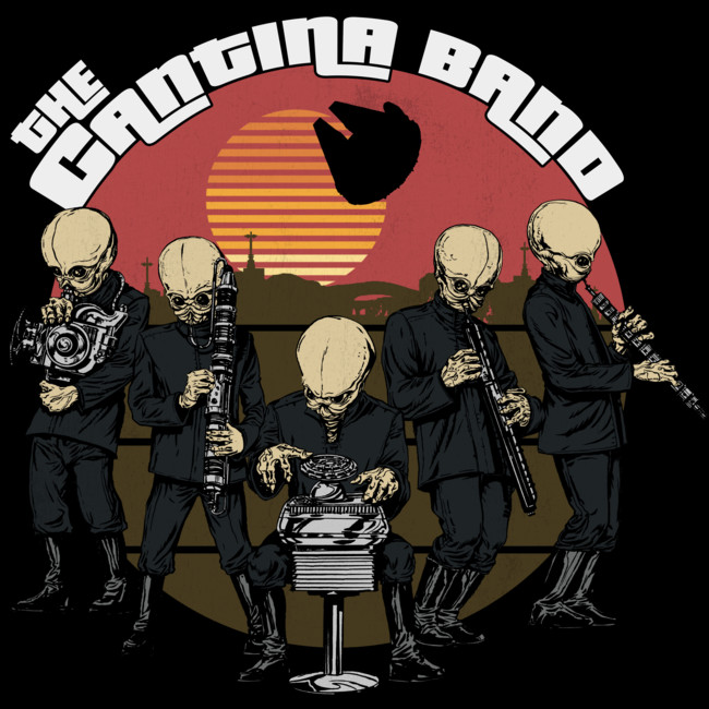 Plus, the best band in the galaxy, Figrin D'an and the Modal Nodes (and that catchy song). -