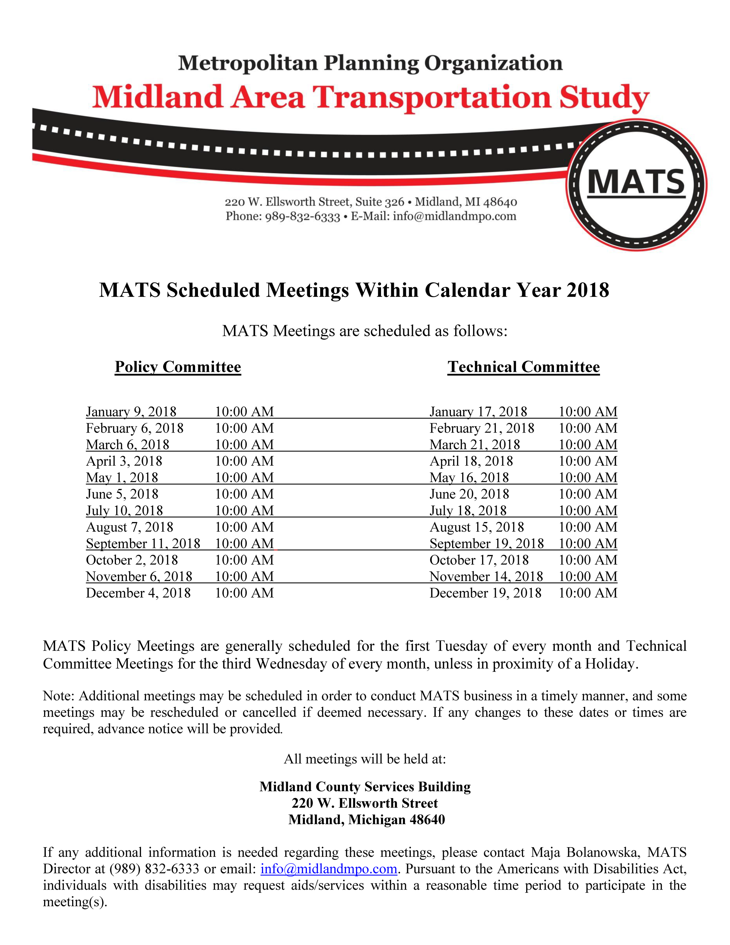 MATS Technical  Policy Committees 2018 Meeting Dates Public.png