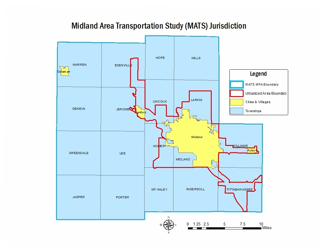 MATS Metropolitan Planning Area facilitates a more regional approach to transportation planning by including everyone's perspective, working with stakeholders and communities. -
