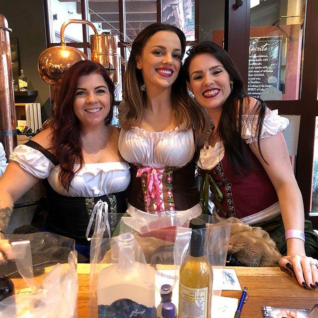 First Oktoberfest! Love Leavenworth and these ladies!!