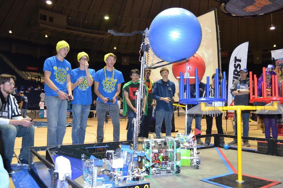 Blue Crew Too scoring big at the 2017 Mississippi State Competition in Oxford, MS.