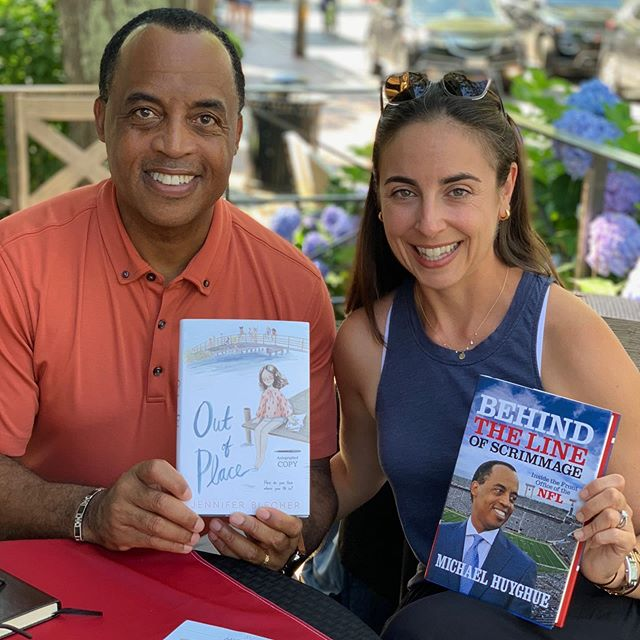 Thank you Martha's Vineyard for your enthusiastic support and turnout @edgartownbooks for my book signing. I met some amazing people! #behindthelineofscrimmage #marthasvineyard #nfl #edgartownbooks