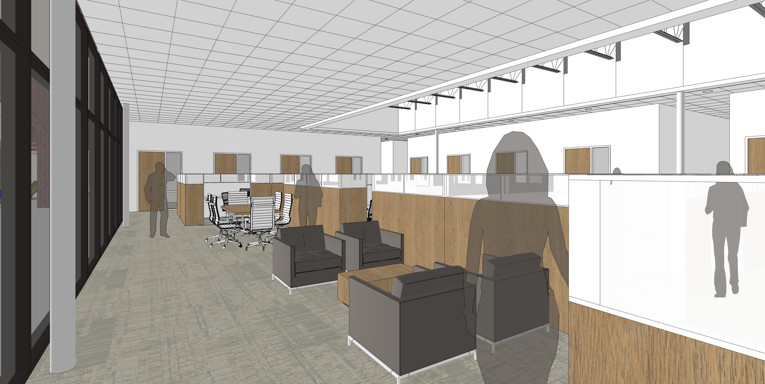 Interior view of parish offices - open offices.jpg