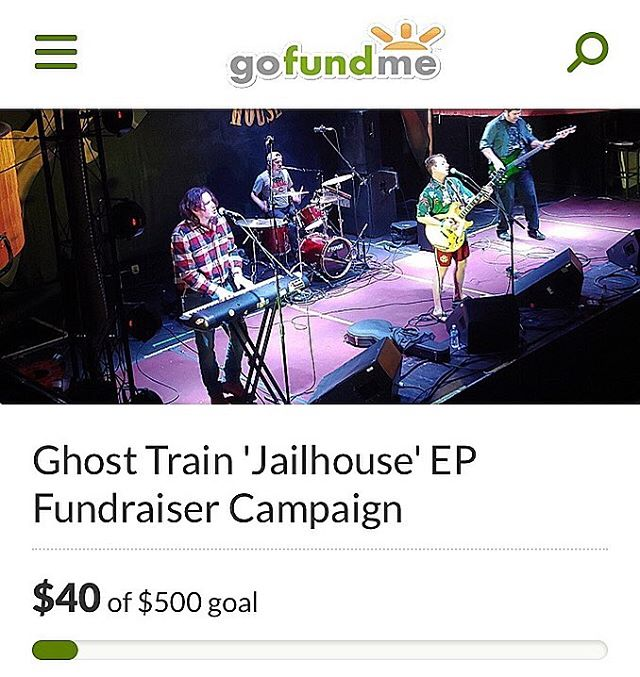 We just launched our GoFundMe campaign to help finance our next EP. Donate by clicking on the link in our bio. Thank you! #RideTheTrain #GoFundMe #Campaign #Trail #Finance #Records #Project #Ohio #Cincinnati #Columbus #Cleveland #Dayton #Rock #Band #Music