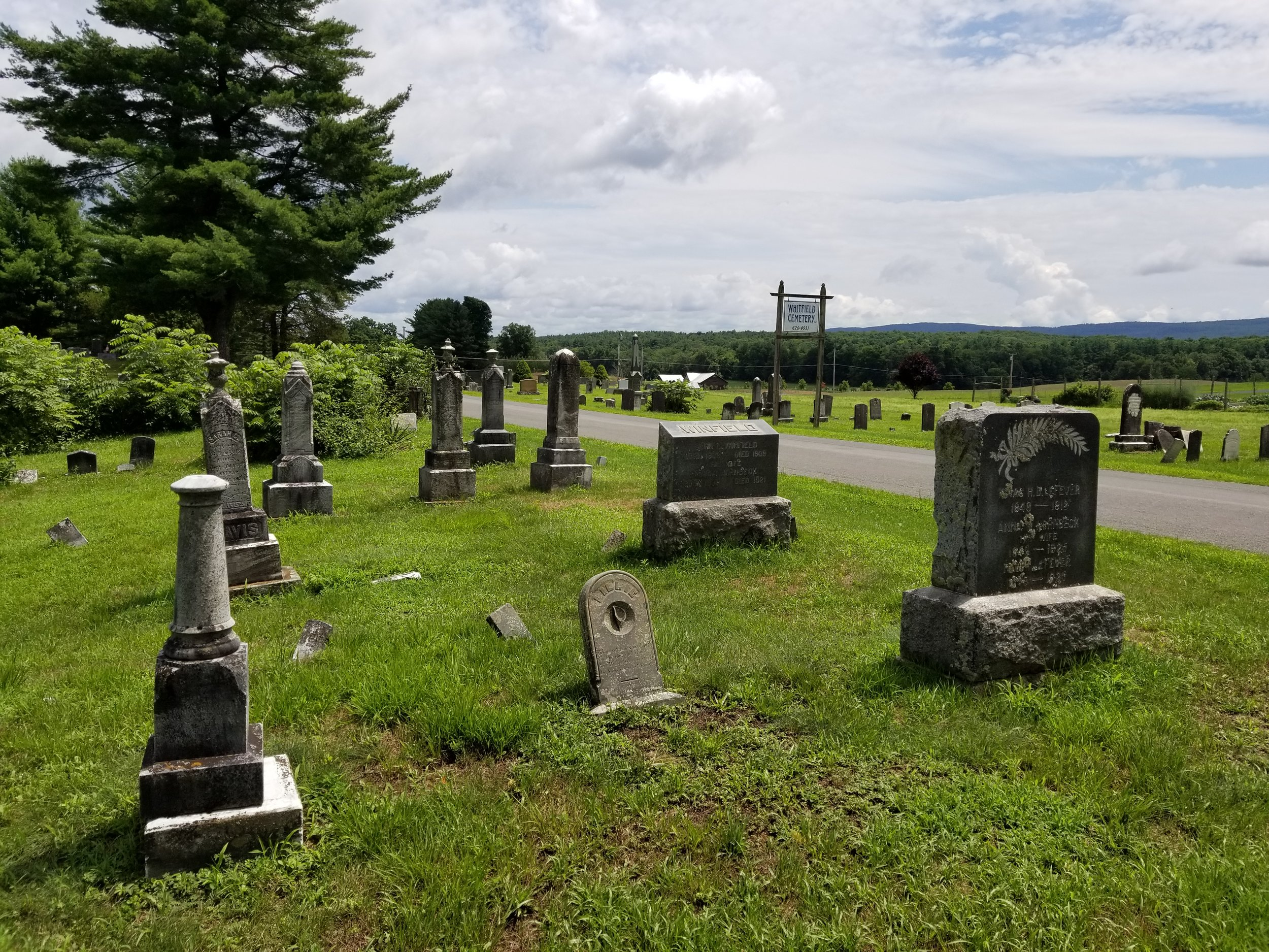 whitfield cemetEry on airport rd