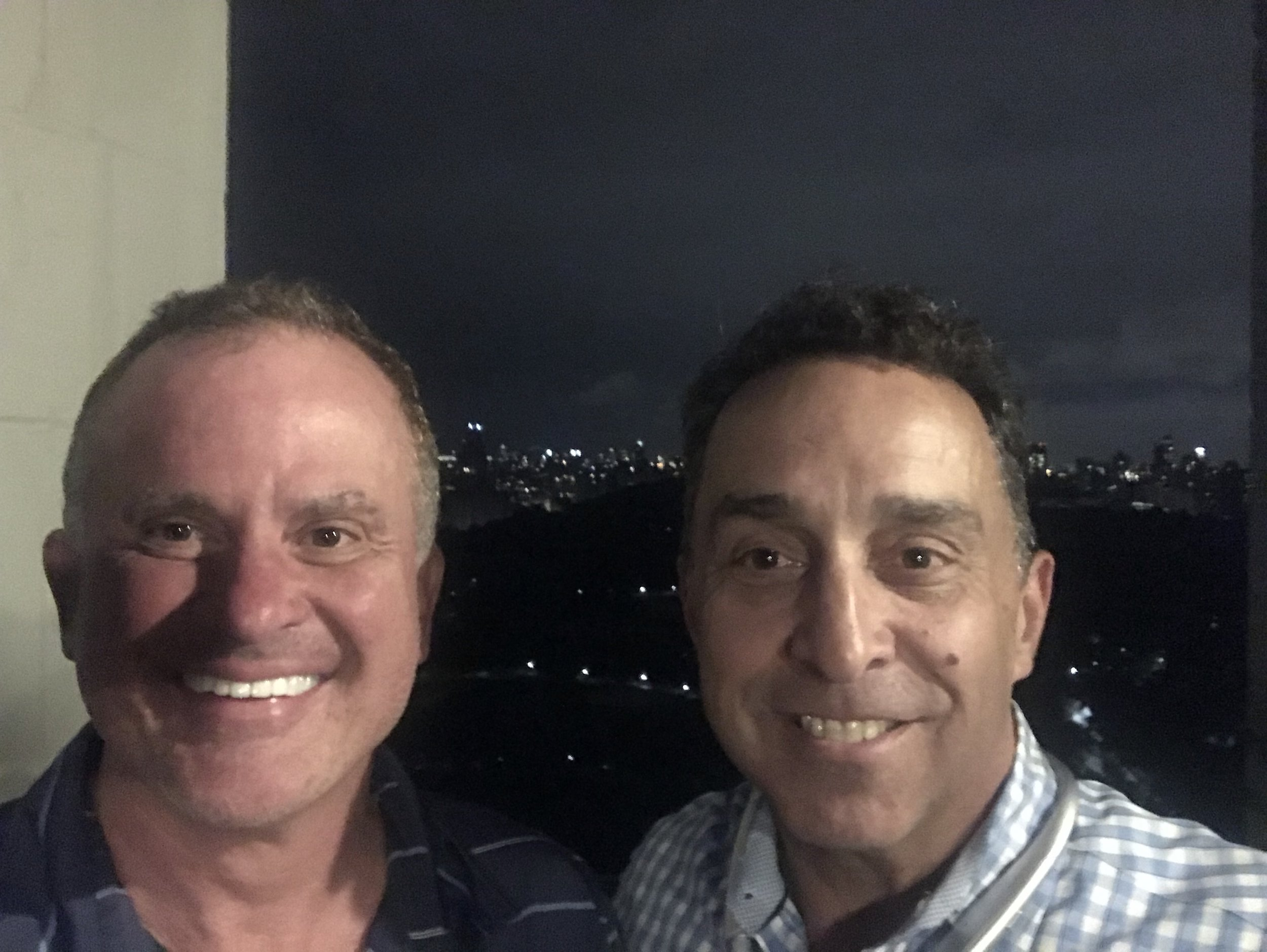 BravasLive's Jay Noce, CEO and Perry Kamel, Global Managing Director in NYC for client meetings.