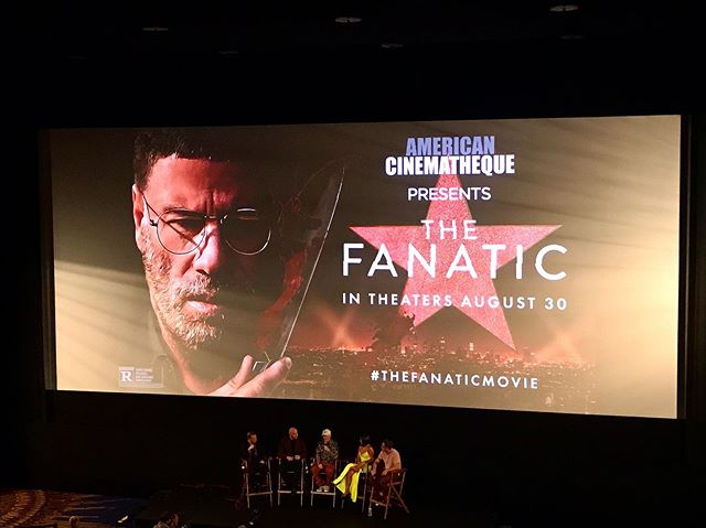 "Last night we went to a screening + Q&A of #TheFanatic with Fred Durst and the cast. At one point during the Q&A John Travolta rapped LL Cool J's ""I Need Love"" and I don't think my life will ever be the same. . . #freddurst #devonsawa #johntravolta #movie #movies #film #cinema #cultclassic #limpbizkit #nookie"