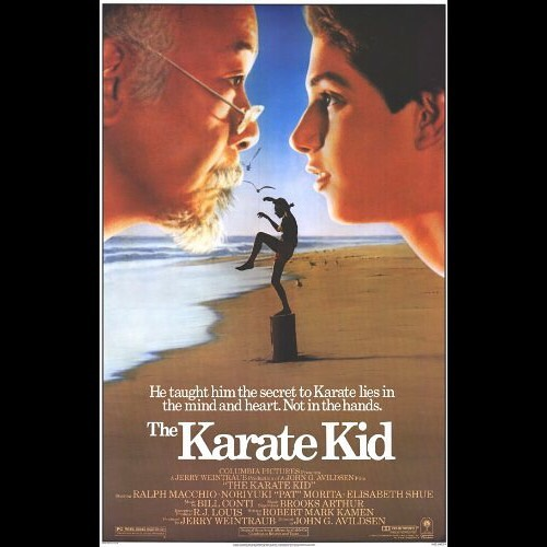 🥋New episode is up🐉  Alex and Jenn faked you all out the last couple of weeks and decided to pair The Karate Kid with Dragonball Evolution instead of Rocky. Surprise! The two discuss the two teen fighting films, their love of Mr. Miyagi, white Goku, and how NOT to kiss people. If you listen to this episode and mansplain Dragonball to Alex afterwards you will 100% go to a hell where you're forced to watch Dragonball Evolution every waking minute. . . #thekaratekid #karatekid #karate #dragonball #dragonballz #goku #anime #dragonballevolution #movie #movies #film #films #cultclassic #bmovie