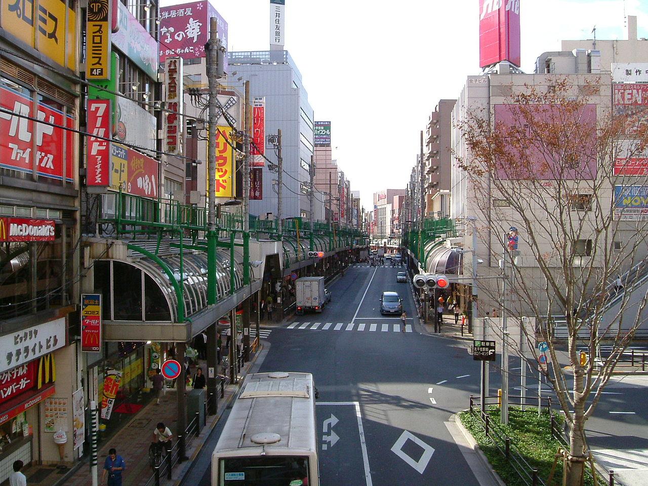 1280px-Kitasenju_station_west_side_scene.jpg