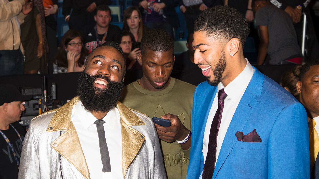 I was feeling the Blazers on James Harden and Anthony Davis this year.