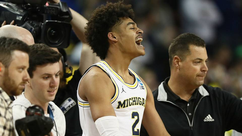 Michigan Guard Jordan Poole via Getty Images