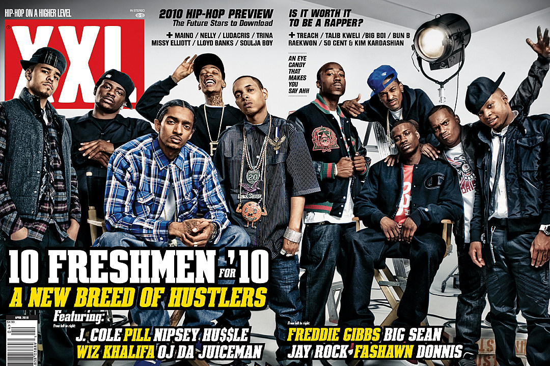 XXL Freshmen 2010 cover.