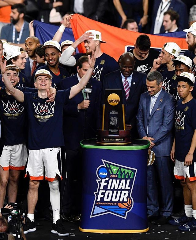 Congratulations to @virginiasports for their first ever NCAA Championship title 🏀🏀