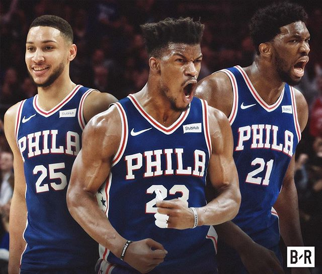 It's happening...🏀 #sixersoutsiders #HereTheyCome