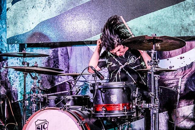 Happy birthday to our beast of a drummer @blaise_slumber !! We love you man, and our lives are better for having come in contact with you. It's a privilege to be in a band with you ❤️❤️❤️
