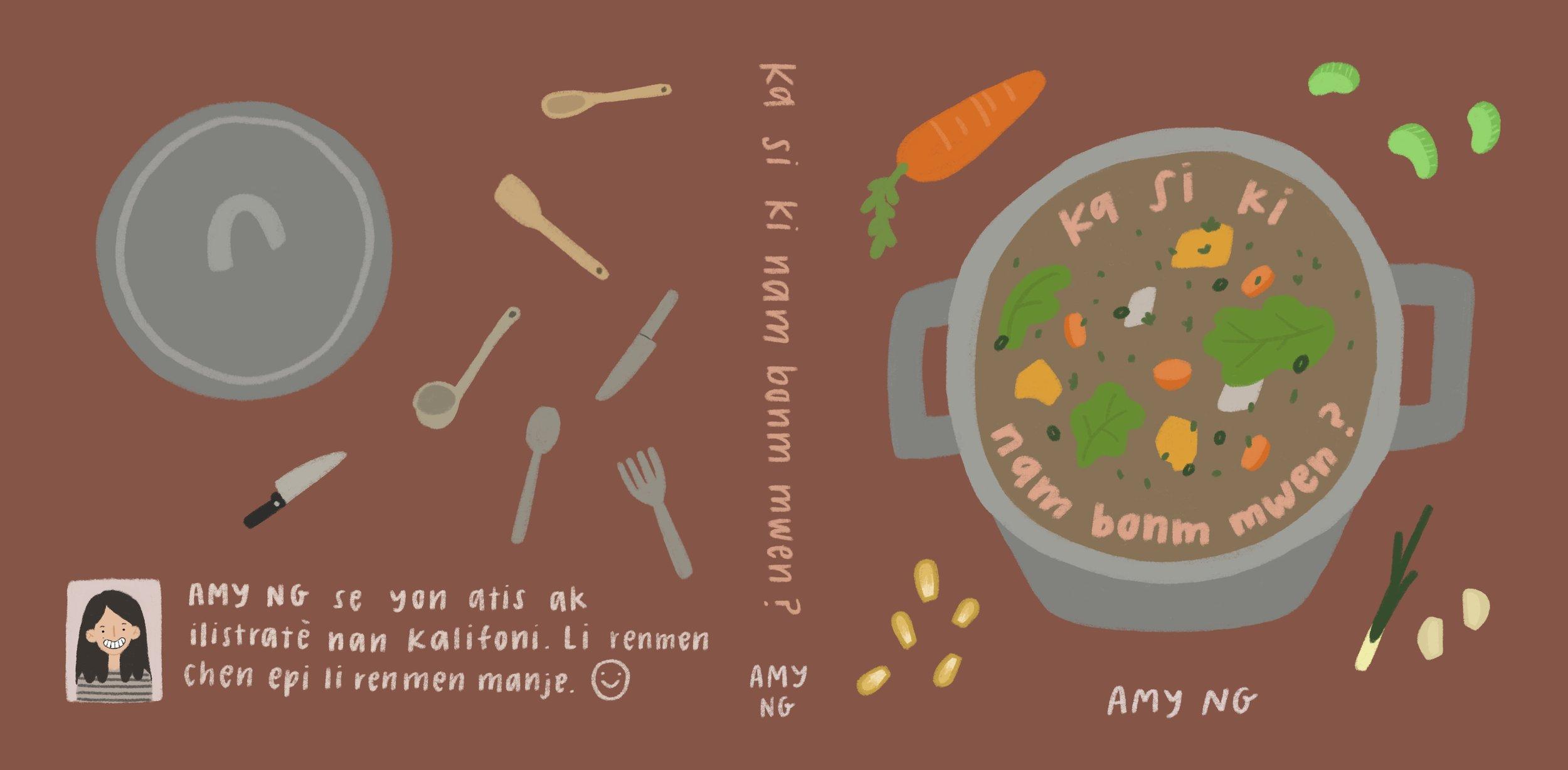 Ka si ki nam bonm mwen ? (What's in My Pot?)  by Amy Ng