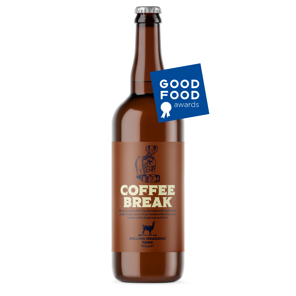coffee break - Ale with Coffee8.5% ABVWe took a classic brown ale base and added cold press Custom Cup Coffee, which is a small-batch coffee roaster just 7 miles down the road. The blend has a perfect balance of the two types of brews. Everyone needs a Coffee Break!