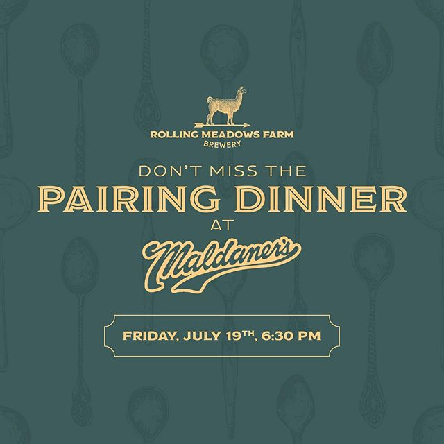 Planning a summer date night? 🍻Join us for a spectacular Pairing Dinner at @maldanersspi this Friday at 6:30pm! Link in profile to pre-purchase tickets.