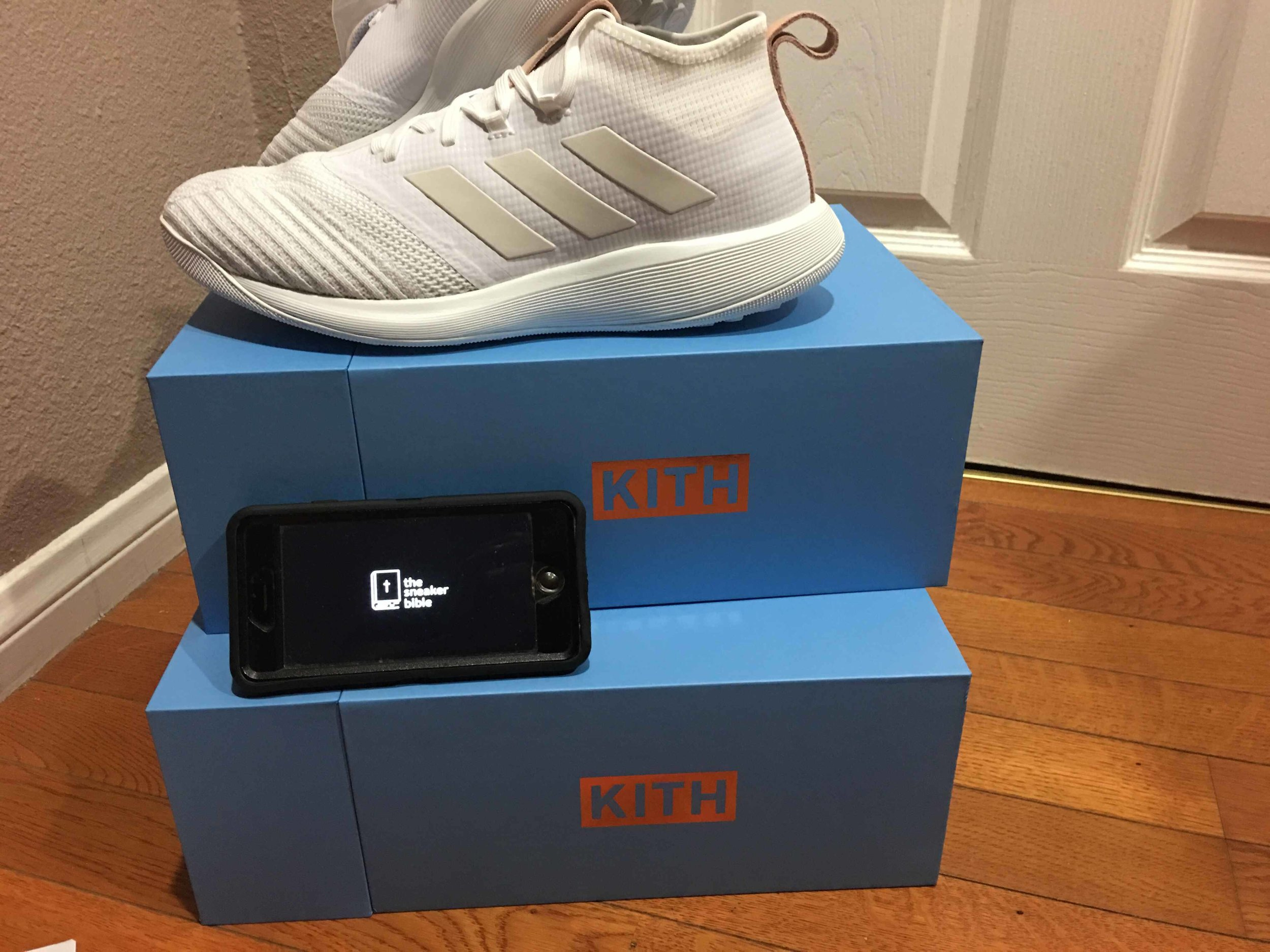 TheSneakerBible Success - Kith UB