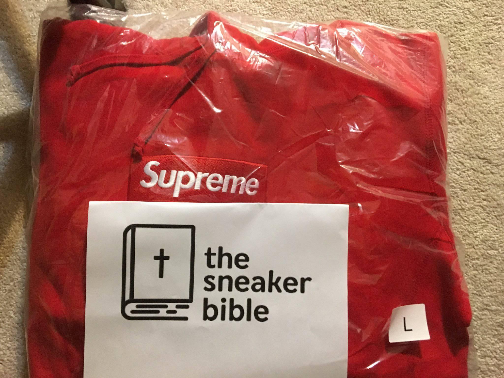 TheSneakerBible Success - Supreme