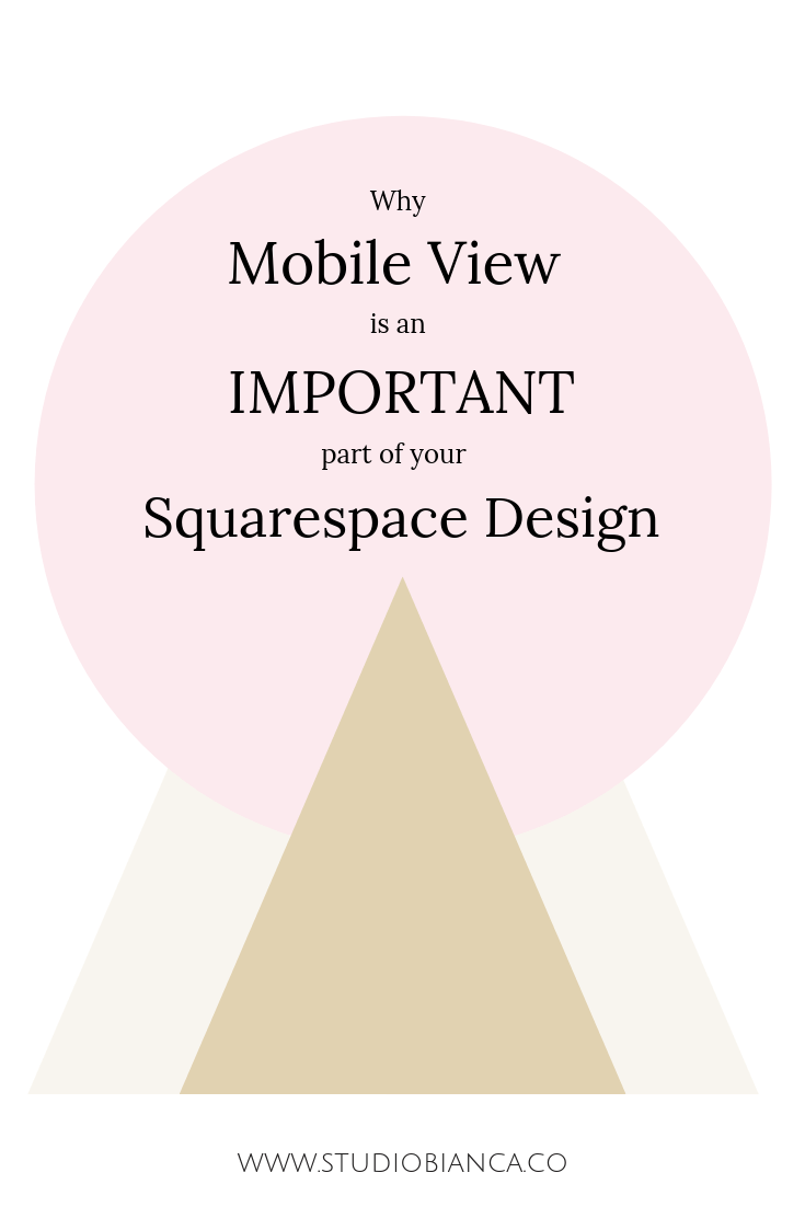 Did you know that checking your squarespace website in mobile view is an important part of the design process? In any design, checking to see what site visitors see is an important step. Squarespace makes it easy, and also offers another reason to choose mobile-responsive over mobile-friendly. Learn more!