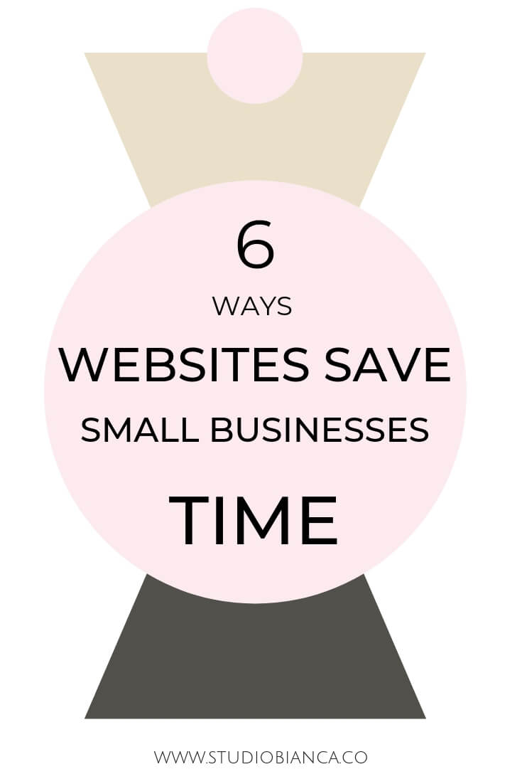 Creative entrepreneurs and small business owners, did you you know a well-designed, strategic website can increase your profits but, more importantly save you time? Adding responses to frequently asked questions, placing details in the right places and automating scheduling duties are just a few daily tasks your website can handle for you. Learn some website time-saving tips in this post!
