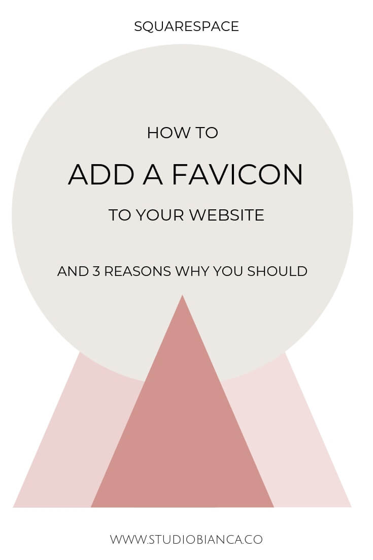 Creative entrepreneurs and small business owners, looking to personalize your site? Add a favicon! It simple and easy to add this icon to your site and show everyone it is yours. Learn how!