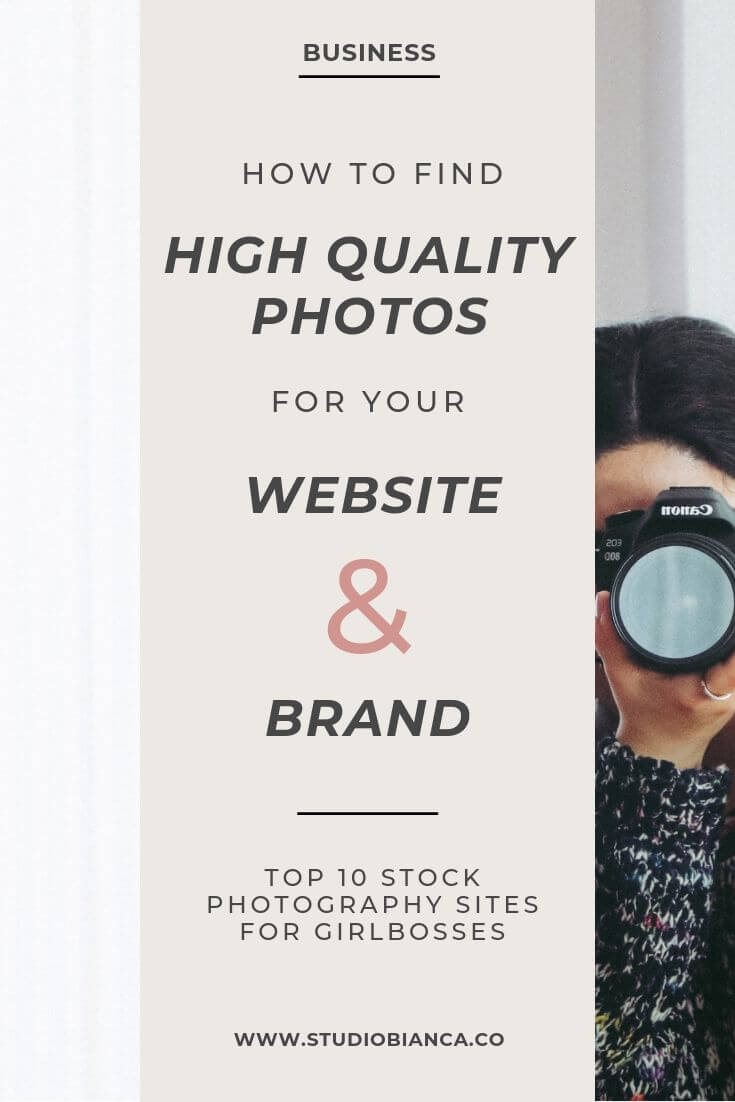 Top 10 stock photography sites for girlbosses: Brand photo ideas to help tell your brand story on Squarespace and on social media. Find stock photography that is both free and feminine. Gather brand identity inspiration and find source ideas for your brand board or website. Lots of sources for high quality images to use on your website and branding. Female-led and founded stock photography sites offering free stock photos for lifestyle brands and savvy business owners. Read the post!