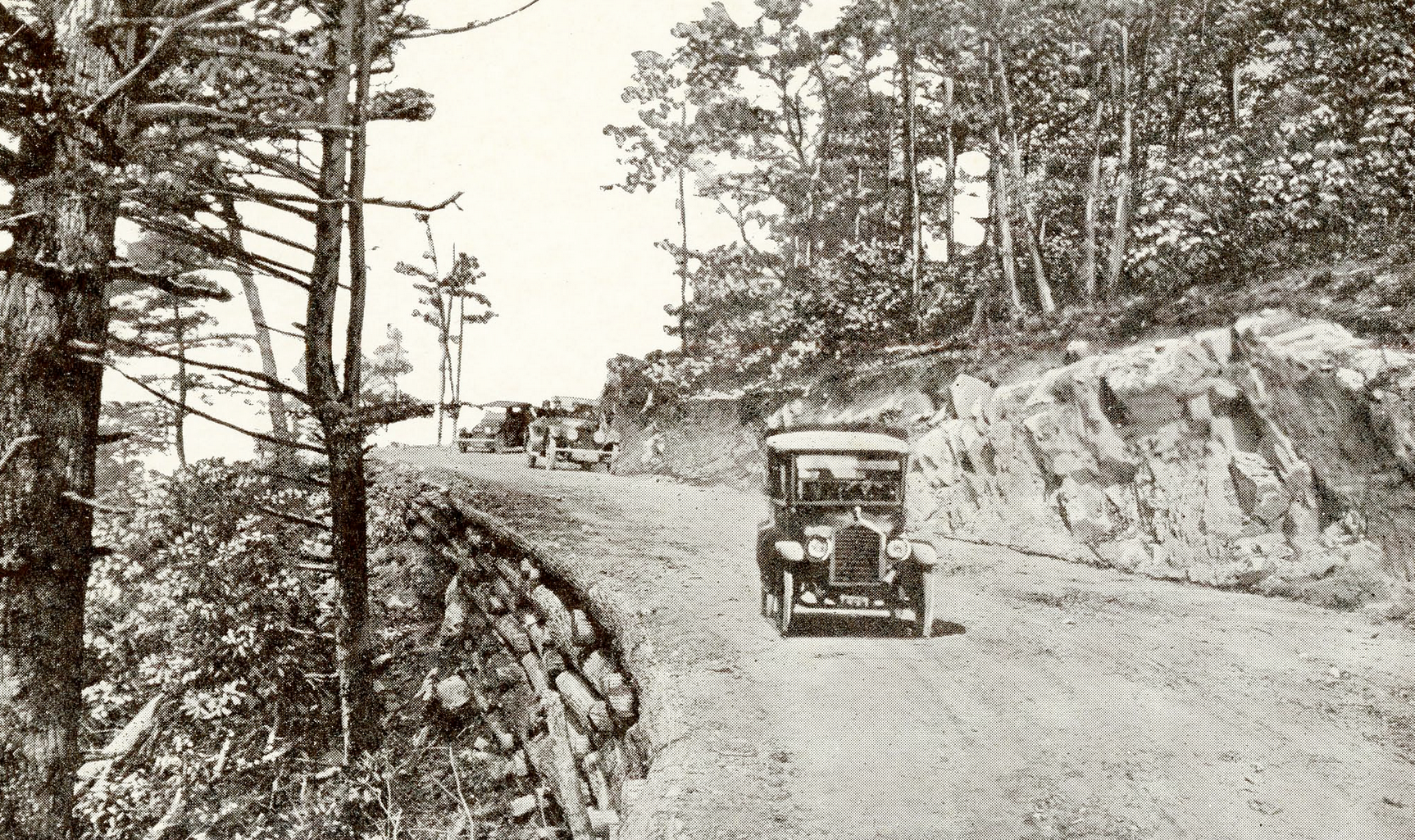 Early Road in Watauga County. Image courtesy of the Bobby Brendell Postcard Collection (Bob-Bre-3-88),  Digital Watauga Project .