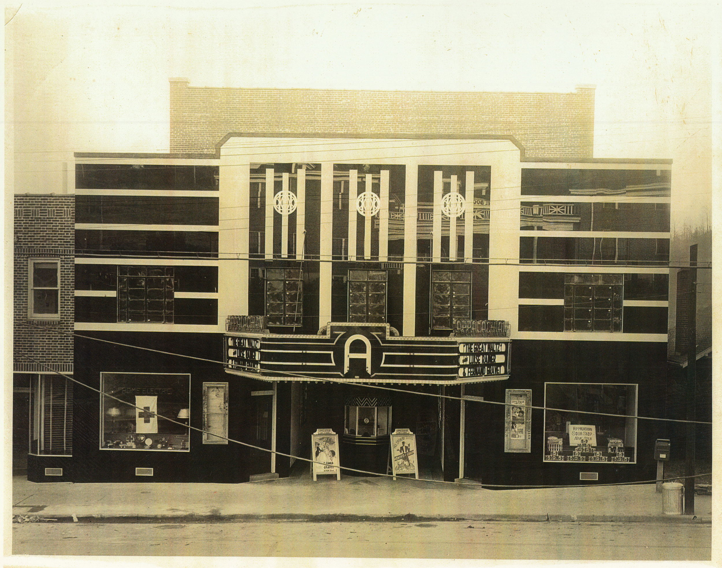 Appalachian Theatre, November 1938